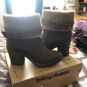 Dirty laundry boots